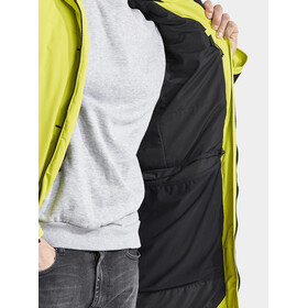 DIDRIKSONS Dante Parka Heren, lime punch